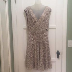 Maeve Knit Lace Wrap Dress Size Extra Large
